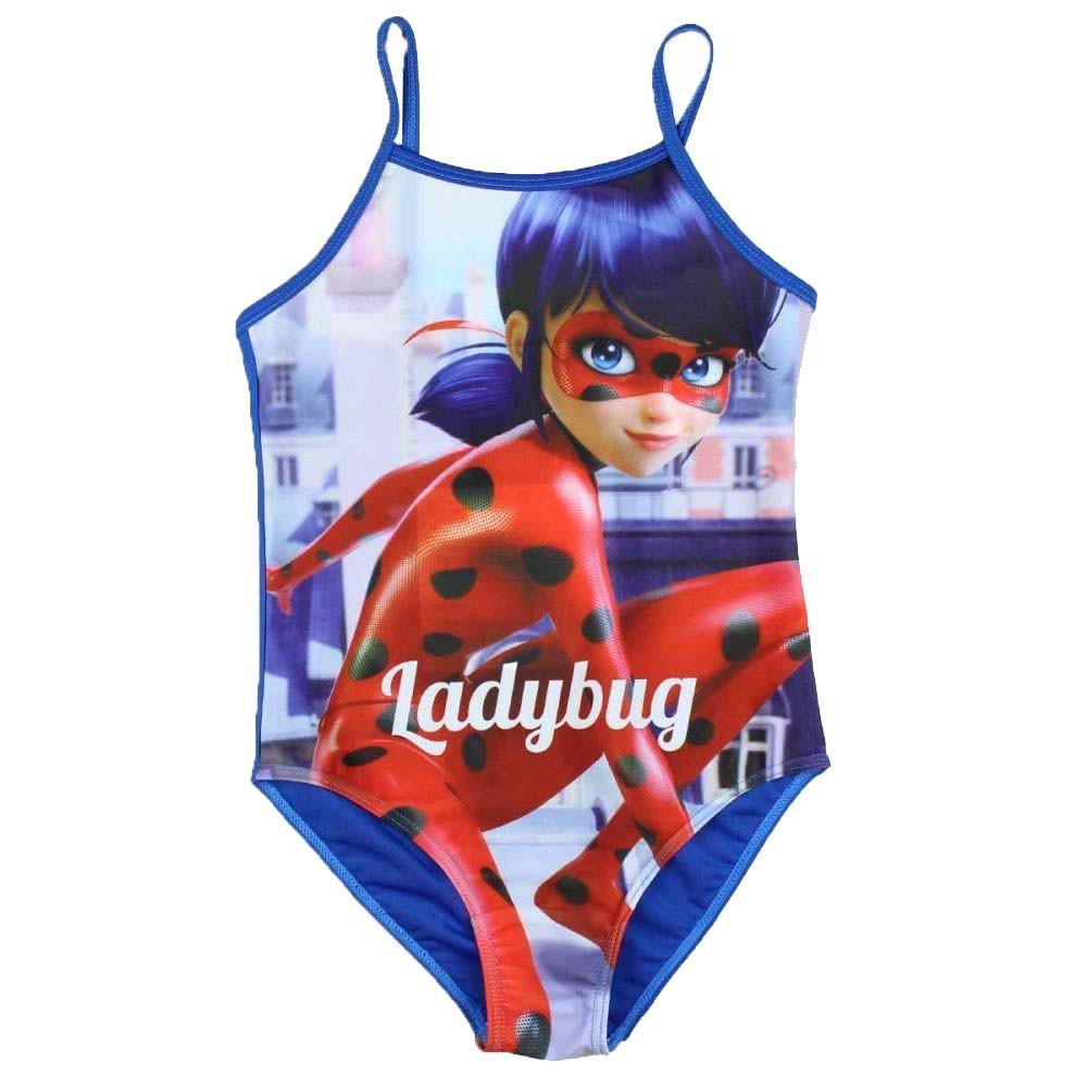 Ladybug Maillot Bain Miraculous Pièce Bleu De 1 Fille MpVSzU